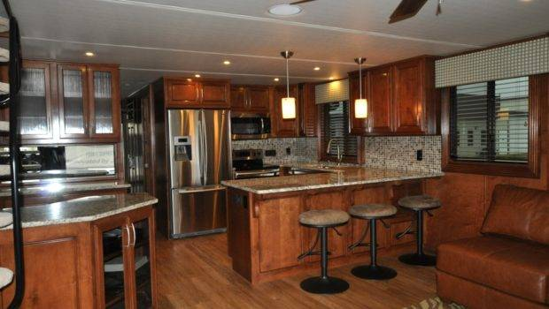 Houseboats Houseboat Galley Interiors Custom