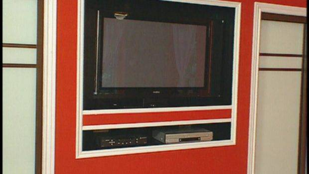 Hripr Niche Recessed Niches Flat Screen Video