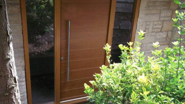 Hugely Successful Funkyfront Tailor Made Timber Contemporary Doors