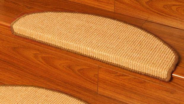 Ideal Euro Sisal Carpet Stair Treads Hand Crafted