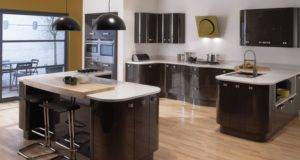 Ideal Kitchen Layout Glass Splashbacks Pinterest
