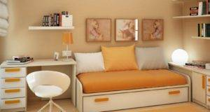 Ideas Article Yellow Modern Small Bedroom