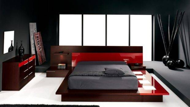 Ideas Black Red Room Decorating Home
