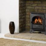 Ideas Burner Fireplaces Stone Log Burners Fireplace