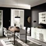 Ideas Dark Black White Dining Room Paint Colors Choosing