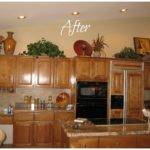 Ideas Decorating Above Kitchen Cabinets Best Home Decoration