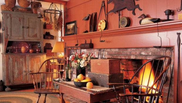 Ideas Decorating Primitives Folk Art Old House