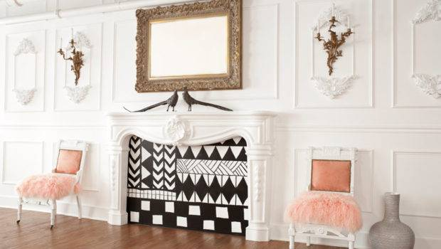Ideas Decorating Unused Fireplace Reliable Remodeler