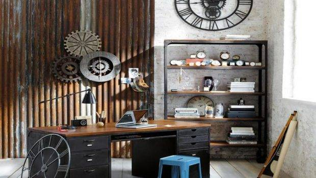 Ideas Design Industrial Interior Home Office
