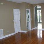 Ideas Gray Wall Paint White Trim Wooden Floor Soft Grey Bedroom