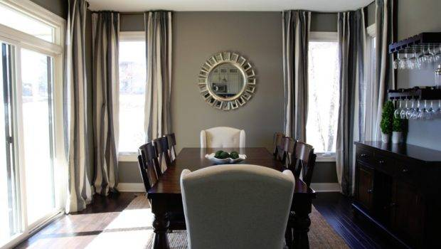 Ideas Grey Wall Paint Color Thrilling Windows Covered