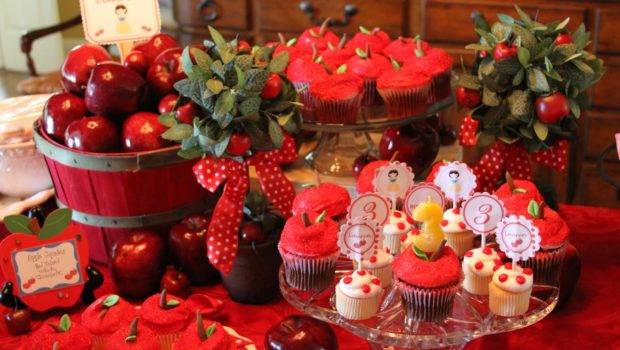 Ideas Her Apple Themed Cupcakes Table Decor Perfect