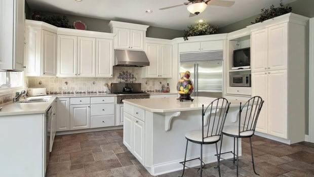Ideas Kitchen Design Wood Lacquer Modular Cabinets