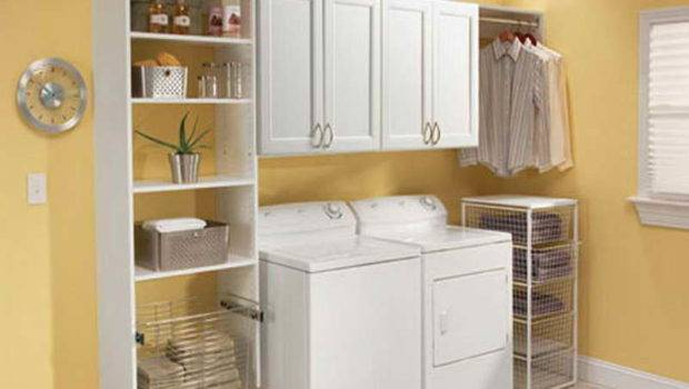 Ideas Laundry Room Small Space
