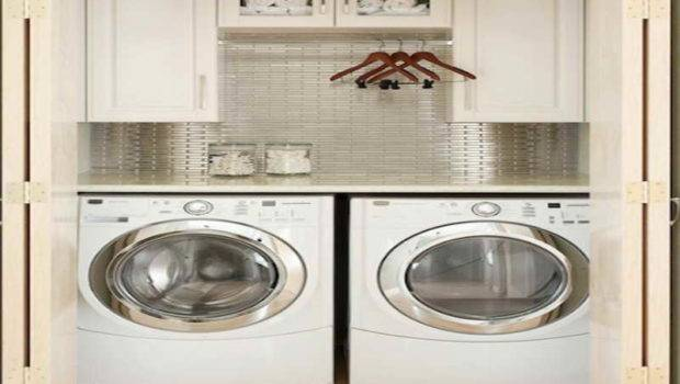 Ideas Laundry Room Small Spaces Wihte Cabinet