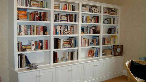 Ideas Library Bookcase Plans Minimalist