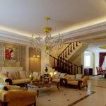 Ideas Living Rooms High Ceiling Decorating