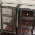 Ideas Mirrored Lamp Bedside Tables Cheap