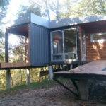 Ideas Steel Shipping Containers Homes Wood Walls