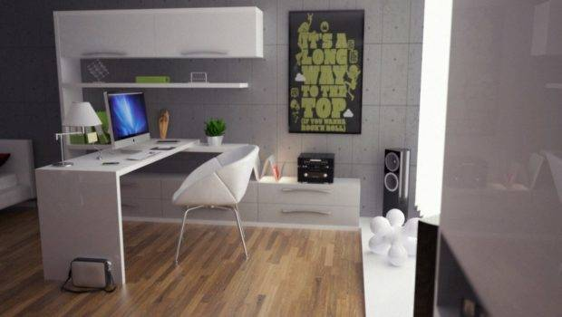Ideas White Desk Cabinets Wooden Floor Chair Kvriver