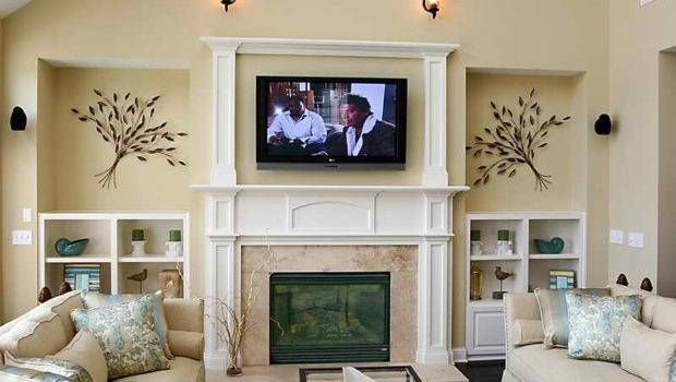 Ideas Without Fireplace Room Design