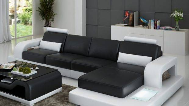 Ifuns Unique Leather Sofa Living Room Set Modern