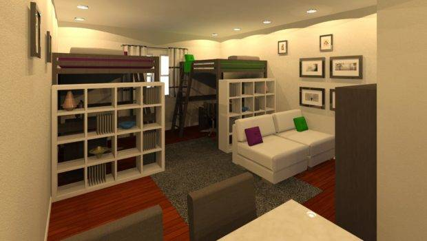 Ikea Studio Apartment Home Design Ideas