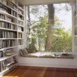 Ikea Window Seat Design Wall Bookshelves