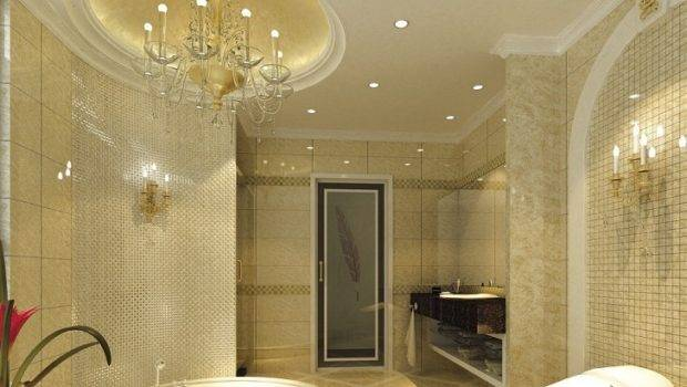 Impressive Bathroom Ceiling Design Ideas Master