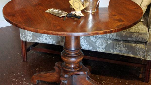 Impressive Round Dining Table Offering Amusing