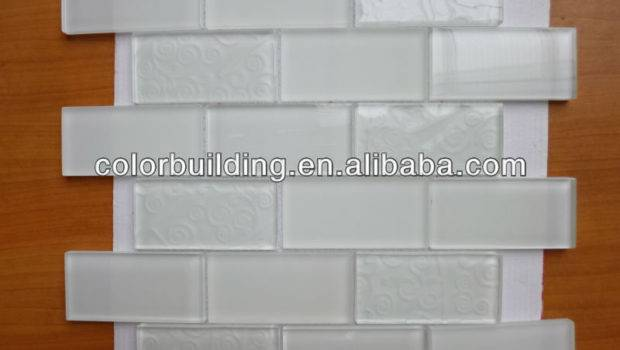 Inch Solid Color Subway Glass Tile Colorbuilding