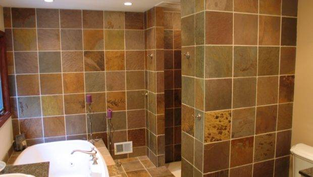 Indianapolis Master Bath Walk Shower