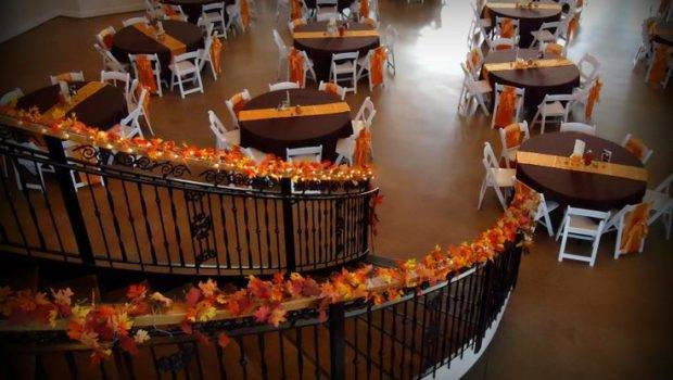 Indoor Fall Wedding Decor Bridget Did Guest