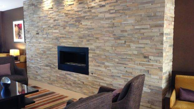 Indoor Stone Wall Fireplace Pinterest