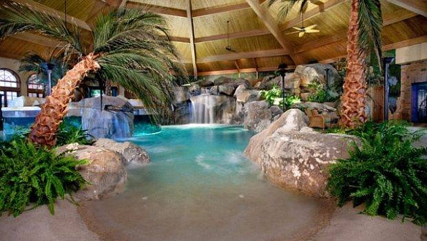 Indoor Swimming Pool Ideas Taking Dip Style