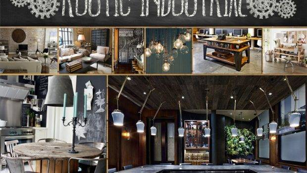 Industrial Home Rustic New Homes Refined Cor