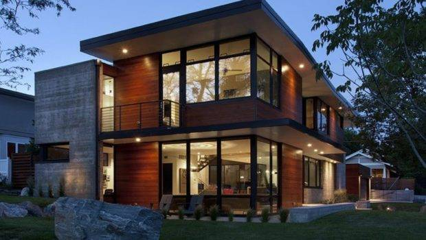 Industrial Style Home Plans Modern House Plan
