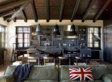 Industrial Traditional House Interior Design
