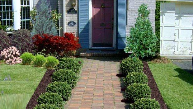 Inexpensive Landscaping Ideas Small Front Yard Home