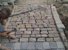 Infiniti Properties Creative Design Construction Pizza Post Paver