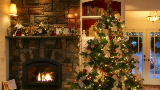 Inspirational Living Room Decorated Christmas Tree
