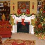 Inspiring Christmas Fireplace Mantel Decoration Ideas Digsdigs