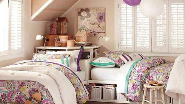 Inspiring Teenage Girl Bedroom Interior Design Ideas