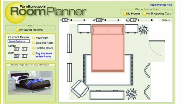 Interactive Room Planner Layout
