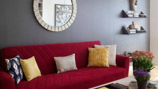 Interior Colors Paint Dark Red Furniture Home Combo