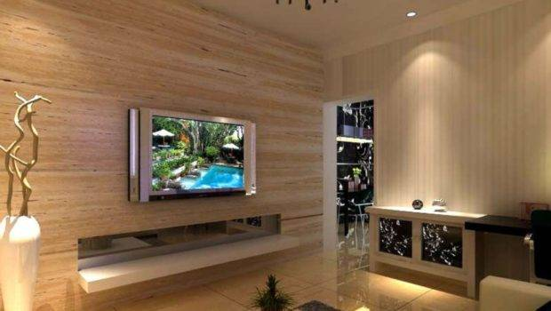 Interior Decoration Living Room Wooden Wall