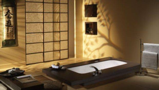 Interior Design Bathroom Japanese Style Minimalism