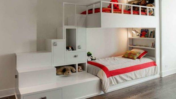 Interior Design Ingenious Ideas Narrow Space Kids Rooms