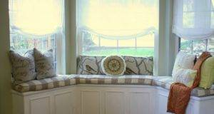 Interior Design Layout Inspiration Stunning White Bay Window Seat