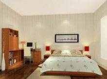 Interior Design Rendering Simple Bedroom House